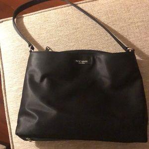 Kate Spade microfiber black purse